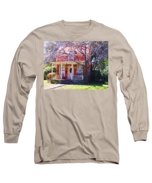 Peach Tree Bed And Breakfast Long Sleeve T-Shirt