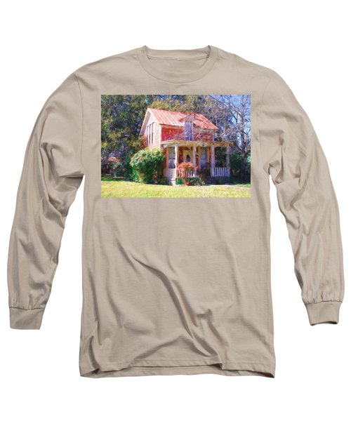 Peach Tree Bed And Breakfast2 Long Sleeve T-Shirt