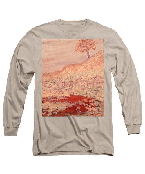Peachy Day Long Sleeve T-Shirt