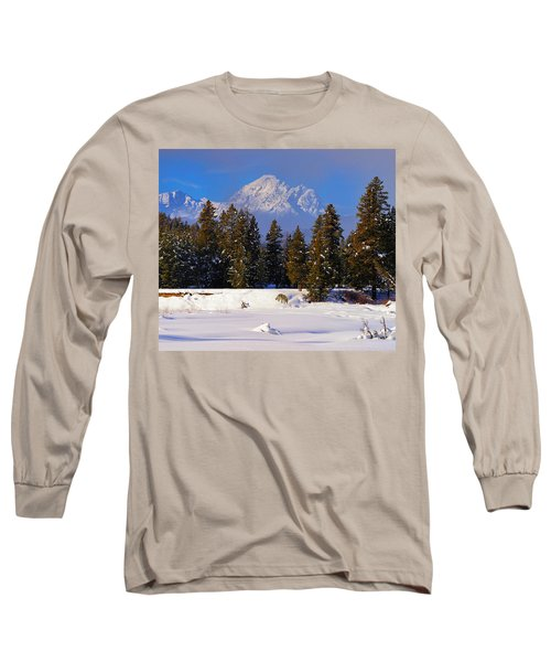 Peaking Through Long Sleeve T-Shirt by Greg Norrell