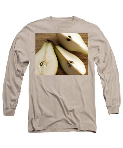 Pear Cut In Three Long Sleeve T-Shirt