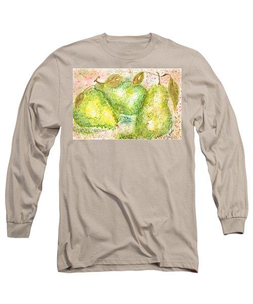 Pear Trio Long Sleeve T-Shirt