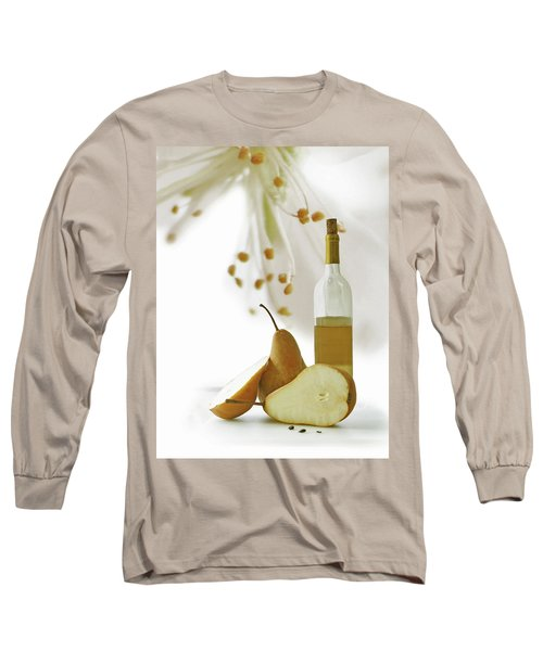 Long Sleeve T-Shirt featuring the photograph Pears Blossom by Ann Lauwers
