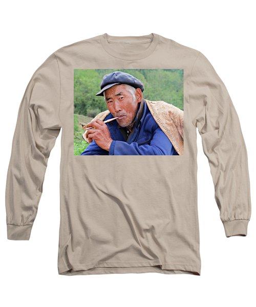 Peasant Farmer Long Sleeve T-Shirt