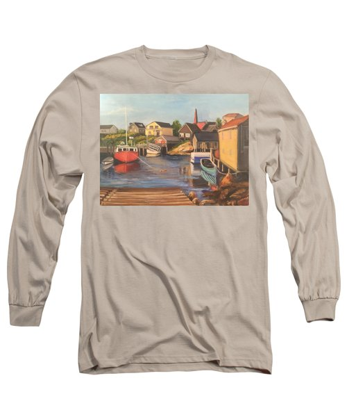 Peggy 's Cove, Halifax Nova Scotia, Canada  Long Sleeve T-Shirt