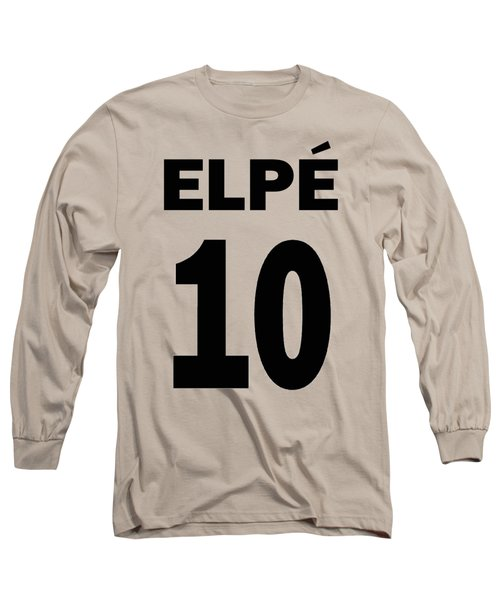Pele 10 Long Sleeve T-Shirt by Charlie Ross