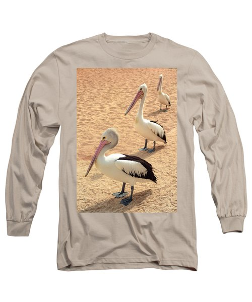 Pelicans Seriously Chillin' Long Sleeve T-Shirt