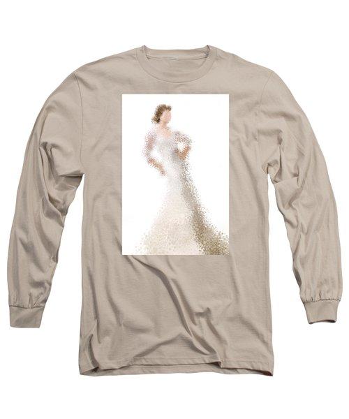 Long Sleeve T-Shirt featuring the digital art Penelope by Nancy Levan