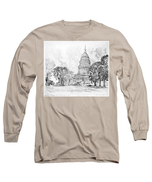 Pennell Capitol, 1912 Long Sleeve T-Shirt by Granger