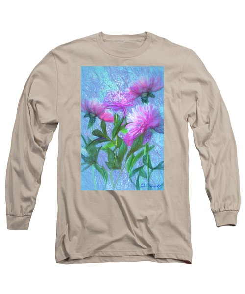 Peonies #3 Long Sleeve T-Shirt