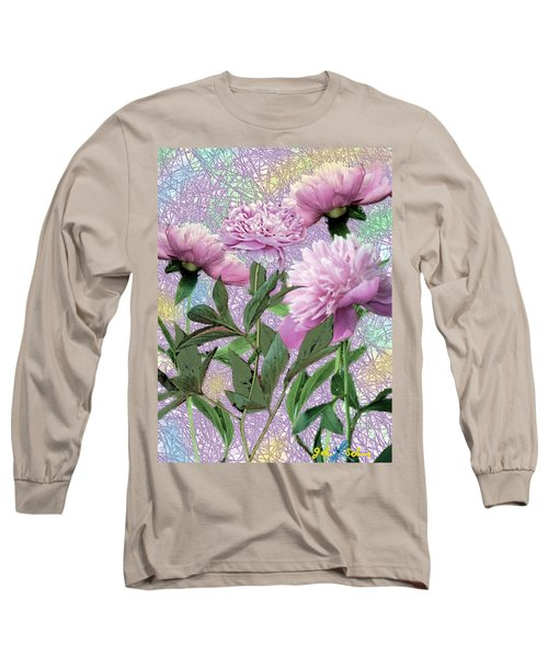 Peonies 6 Long Sleeve T-Shirt