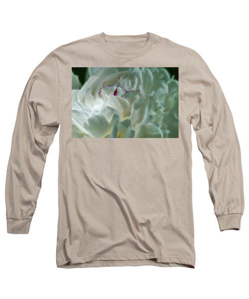Peony Flower Energy Long Sleeve T-Shirt