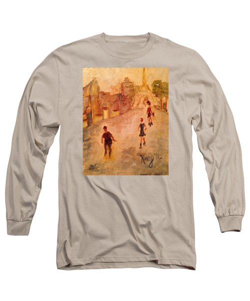 People In Paris Long Sleeve T-Shirt