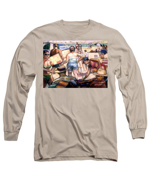 People On The Beach Long Sleeve T-Shirt