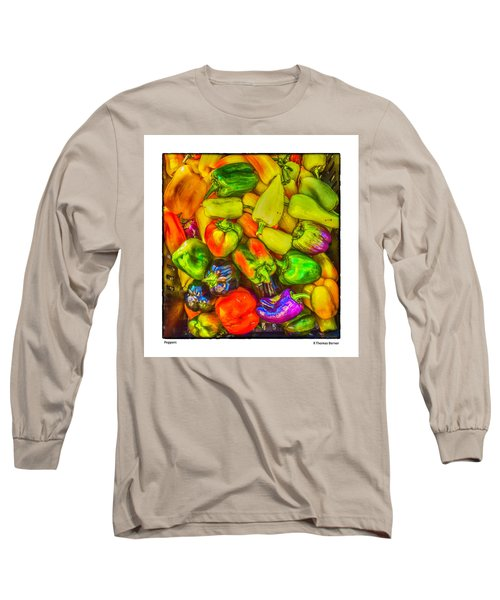 Peppers Long Sleeve T-Shirt by R Thomas Berner