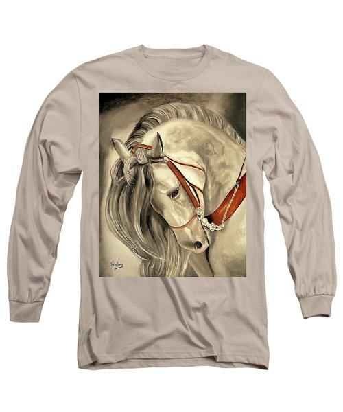 Peralta Andalucian Long Sleeve T-Shirt by Manuel Sanchez