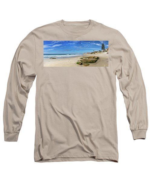 Long Sleeve T-Shirt featuring the photograph Perfect Day At Horseshoe Beach by Peter Tellone