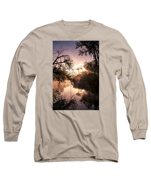 Long Sleeve T-Shirt featuring the photograph Perfect Reflections by Annette Berglund
