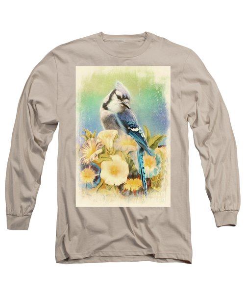 Perfectly Poised Long Sleeve T-Shirt by Tina LeCour