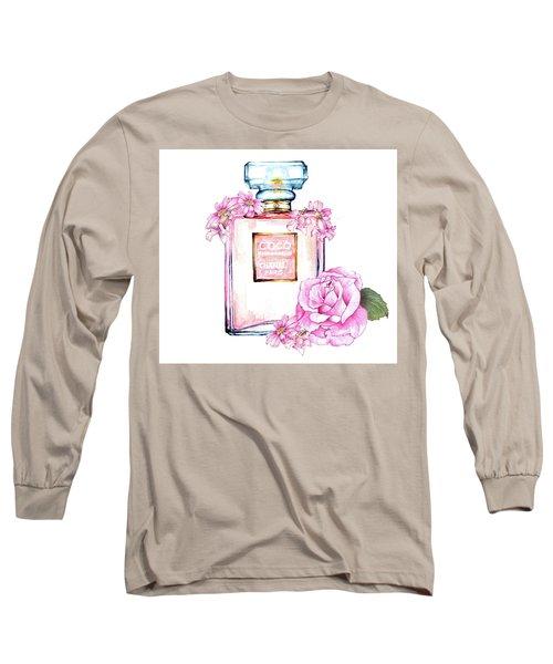Perfume Florals Long Sleeve T-Shirt by Heidi Kriel