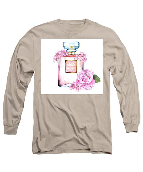 Perfume Florals Long Sleeve T-Shirt