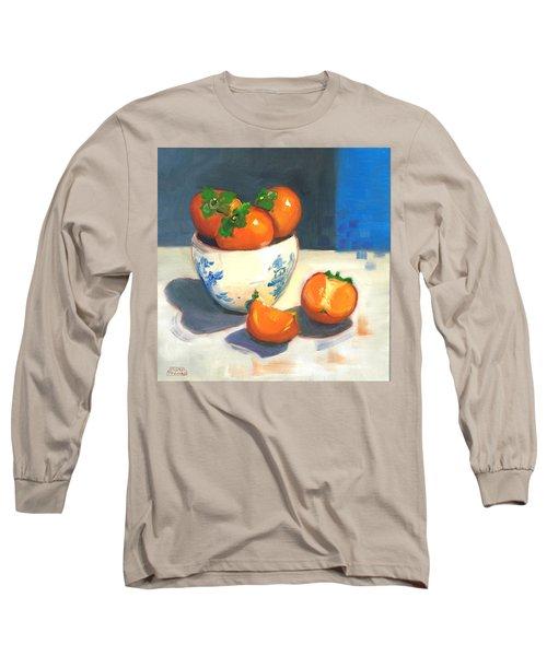Persimmons Long Sleeve T-Shirt by Susan Thomas