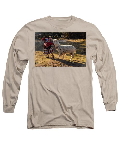 Peru Long Sleeve T-Shirt