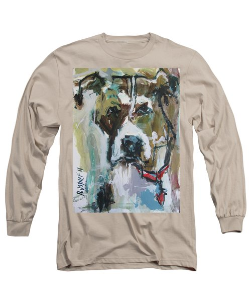 Long Sleeve T-Shirt featuring the painting Pet Commission Painting by Robert Joyner