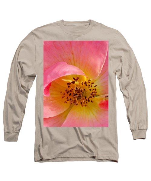 Petal Pink Long Sleeve T-Shirt