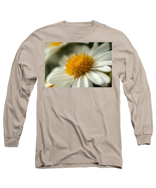 Petals And Pollen Long Sleeve T-Shirt by Michael McGowan