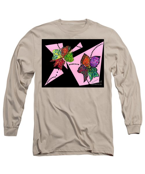 Petals In Motion Long Sleeve T-Shirt