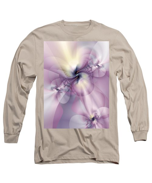 Petals Of Pulchritude Long Sleeve T-Shirt by Casey Kotas