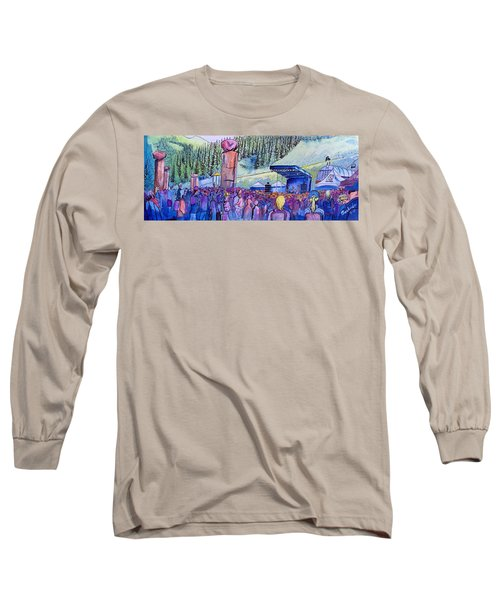 Peter Rowen At Copper Mountain Long Sleeve T-Shirt