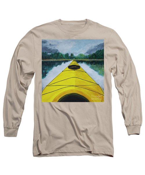 Petersburg Creek Long Sleeve T-Shirt by Cynthia Lagoudakis