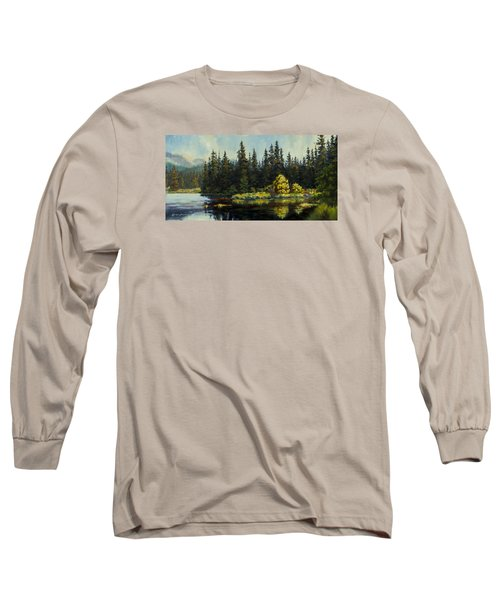 Peterson Lake Long Sleeve T-Shirt by Kurt Jacobson