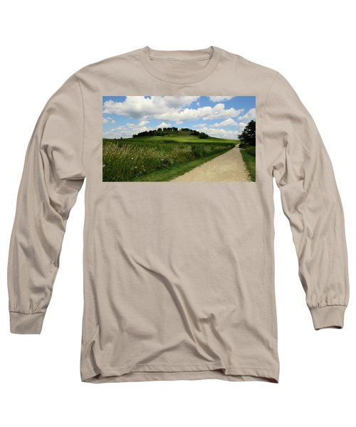 Pheasant Branch Hill Long Sleeve T-Shirt by Kimberly Mackowski
