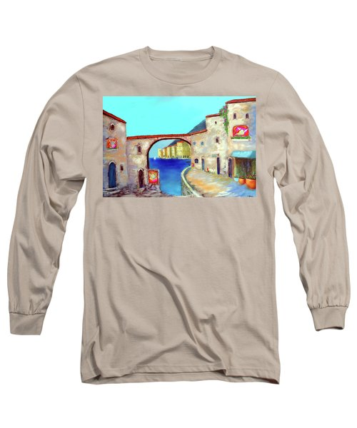 Piazza Del La Artista Long Sleeve T-Shirt