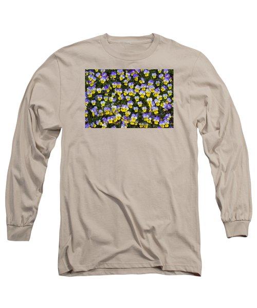 Pick Me-pansies Long Sleeve T-Shirt