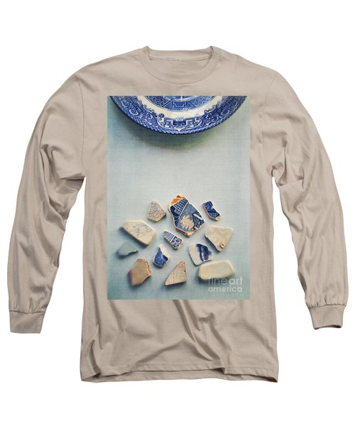 Picking Up The Broken Pieces Long Sleeve T-Shirt