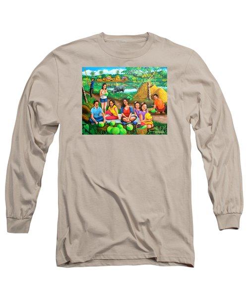 Picnic At The Farm Long Sleeve T-Shirt