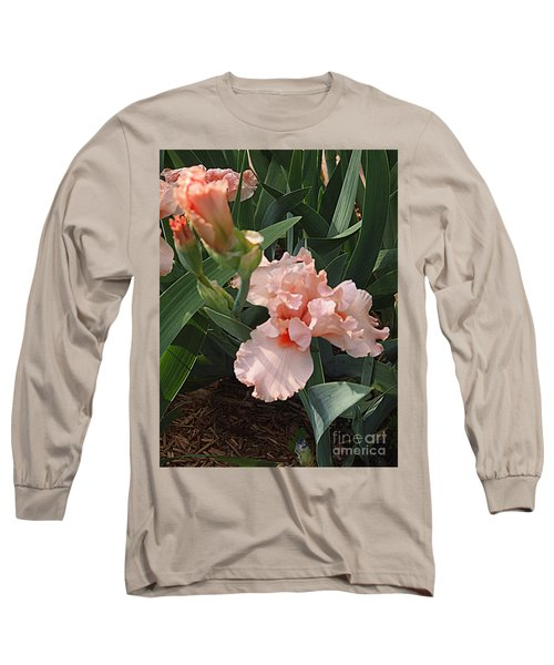 Long Sleeve T-Shirt featuring the photograph Picture Peach by Nancy Kane Chapman