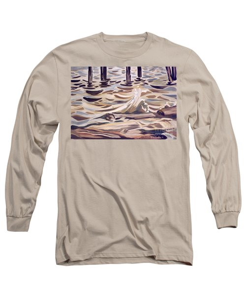 Pier At Granthams Landing Long Sleeve T-Shirt