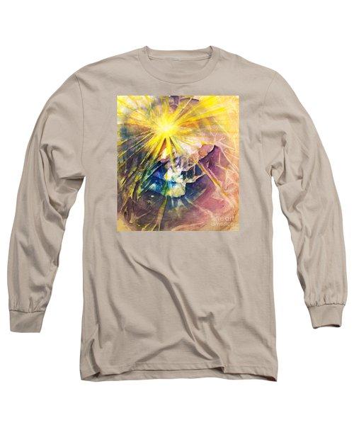Piercing Light Long Sleeve T-Shirt by Allison Ashton
