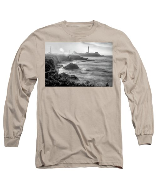 Pigeon Point Rocky Shore Long Sleeve T-Shirt
