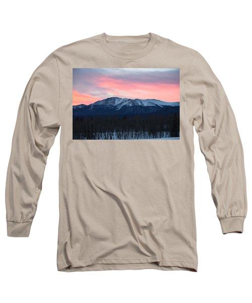 Sunrise Pikes Peak Co Long Sleeve T-Shirt