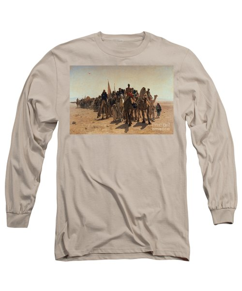 Pilgrims Going To Mecca Long Sleeve T-Shirt