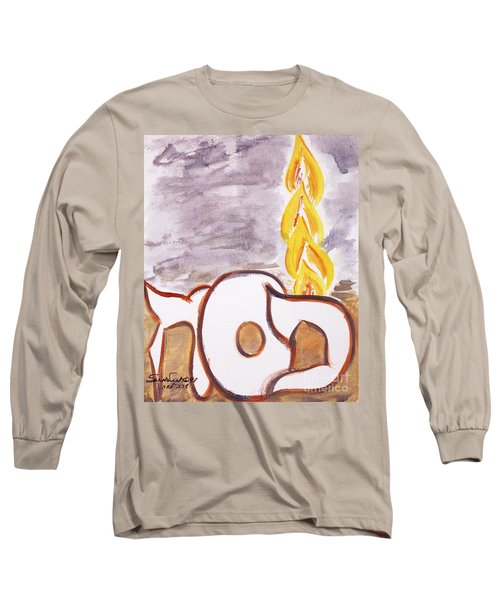 Pillar Of Fire Long Sleeve T-Shirt