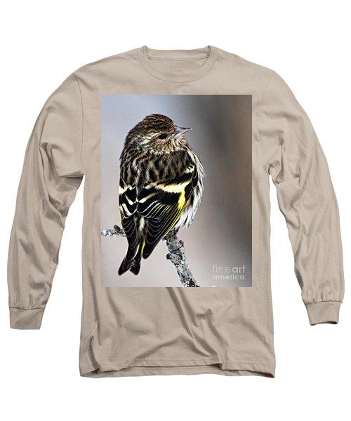 Pine Siskin Long Sleeve T-Shirt
