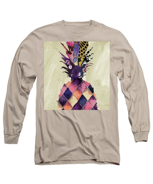 Pineapple Brocade II Long Sleeve T-Shirt