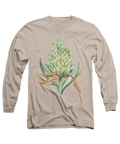 Pineapple By Cornelis Markee 1763 Long Sleeve T-Shirt